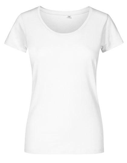 XO1545 X.O by Promodoro Women´s Deep Scoop T-Shirt