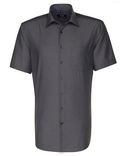 SN003001 Seidensticker Mens Shirt Modern Fit Shortsleeve