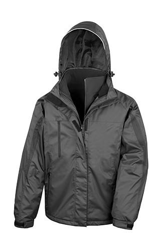 RT400 Result Mens 3 in 1 Softshell Journey Jacket