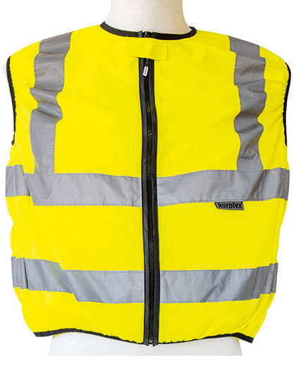 KX511 Korntex Biker Safety Vest EN ISO 20471