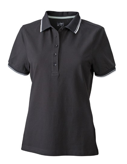 JN965 James+Nicholson Ladies´ Coldblack® Polo