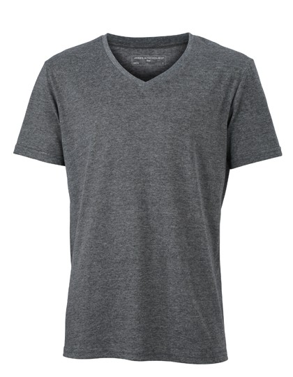 JN974 James+Nicholson Men´s Heather T-Shirt