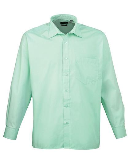 PW200 Premier Workwear Poplin Long Sleeve Shirt (Herrenhemd/Langarm)