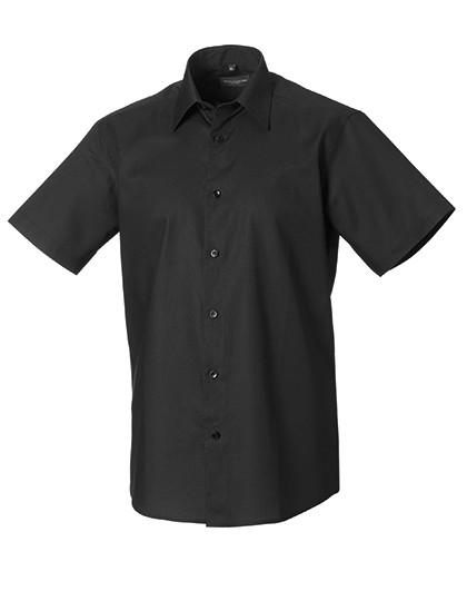 Z923 Russell Collection Kurzärmeliges Oxford Hemd