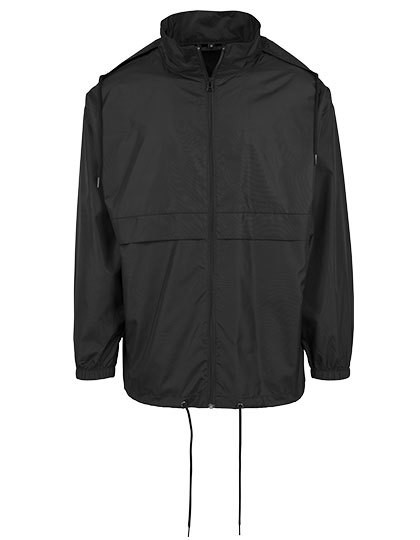 BY078 Build Your Brand Nylon Windbreaker