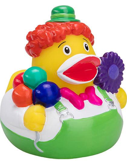 MBW131224 mbw Quietsche-Ente Clown