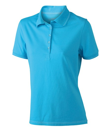 JN568 James+Nicholson Ladies´ Elastic Polo