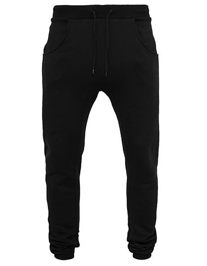BY013 Build Your Brand Heavy Deep Crotch Sweatpants