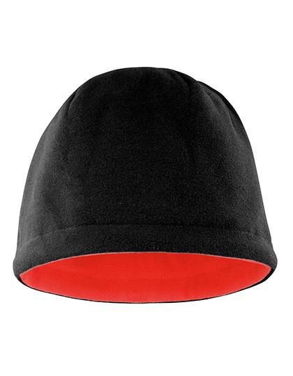 RC374 Result Winter Essentials Reversible Fleece Skull Hat