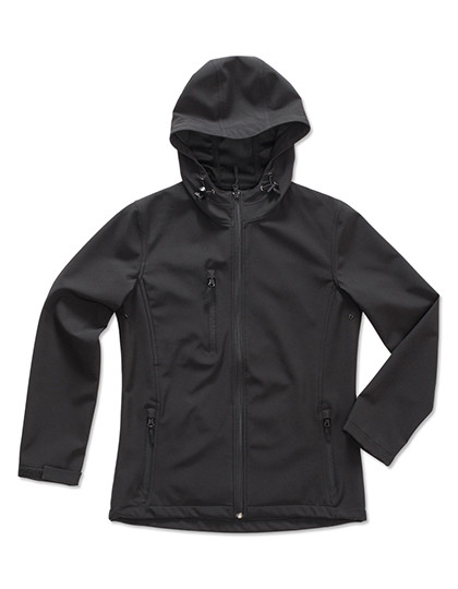 S5340 Stedman® Active Softest Shell Hooded Jacket for women