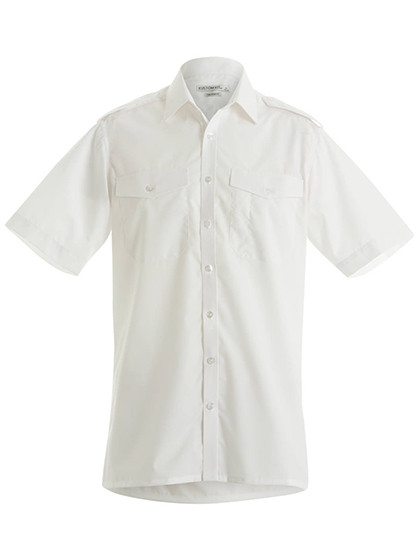 KUSTOM KIT Mens Long Sleeve Pilot Shirt