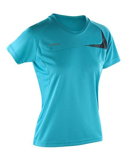 RT182F SPIRO Ladies Dash Training Shirt