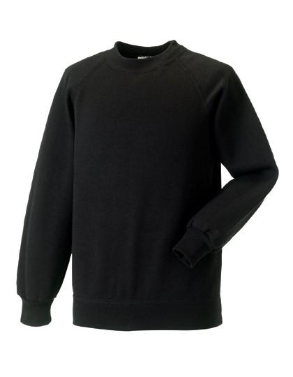 Z762K Russell Kids Raglan-Sweatshirt
