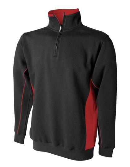 FH338 Finden+Hales 1/4 Zip Sweat Shirt
