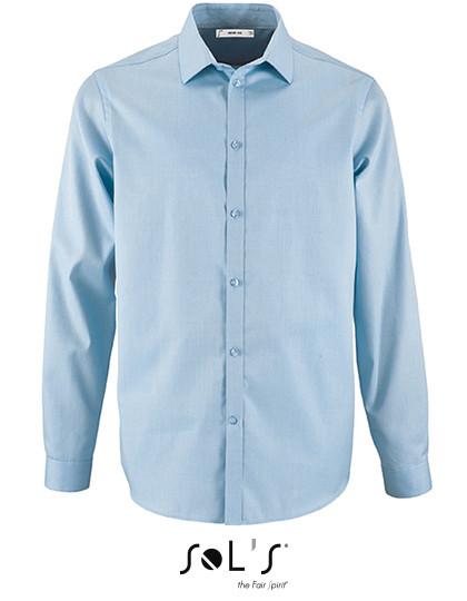 L02102 SOL´S Mens Herringbone Shirt Brody