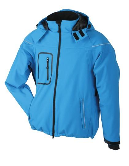 JN1000 James+Nicholson Men´s Winter Softshell Jacket
