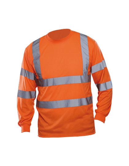 YK420 YOKO Hi Vis Long Sleeve T-Shirt