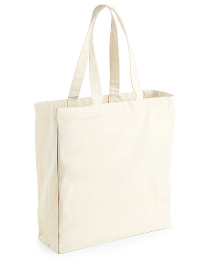 WM108 Westford Mill Canvas Classic Shopper
