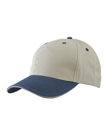 MB6526 myrtle beach 5 Panel Sandwich Cap