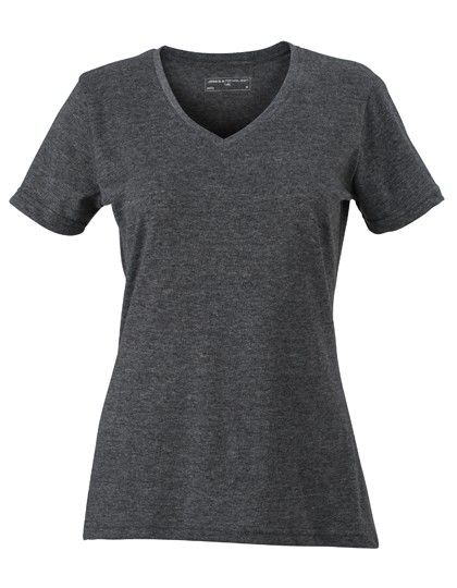 JN973 James+Nicholson Ladies´ Heather T-Shirt