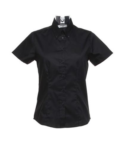 K701 Kustom Kit Women´s Corporate Oxford Shirt Short Sleeve