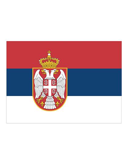 FLAGERS Fahne Serbien