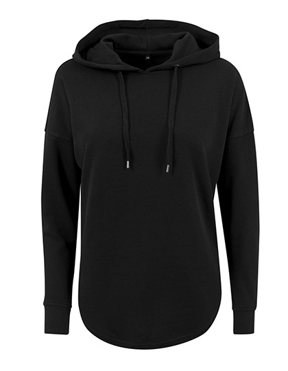 BY037 Build Your Brand Ladies Oversized Hoody