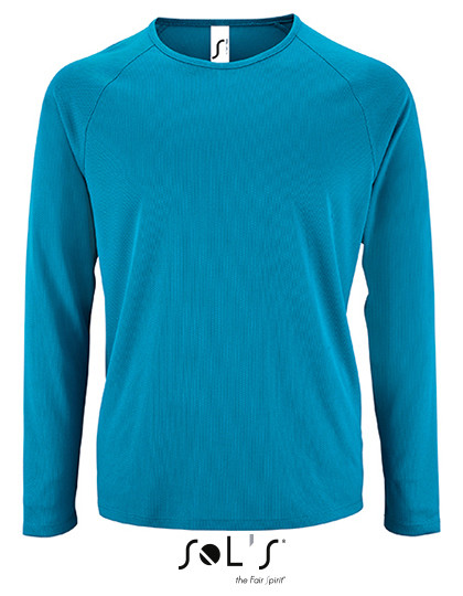 L02071 SOL´S Mens Long-Sleeve Sports T-Shirt Sporty