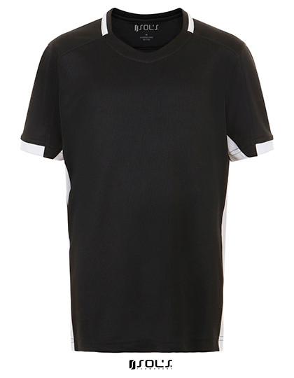 LT01719 SOL´S Teamsport Classico Kids Contrast Shirt
