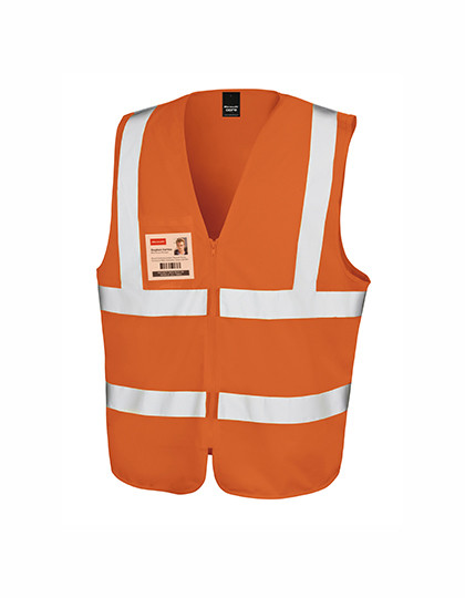 RT202 Result Core Core Zip Safety Tabard