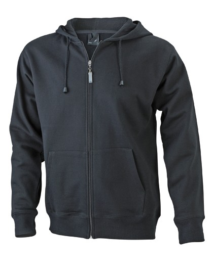 JN042 James+Nicholson Men´s Hooded Jacket