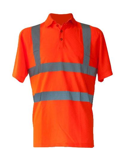 KX070 Korntex Hi-Viz Polo Shirt EN ISO 20471