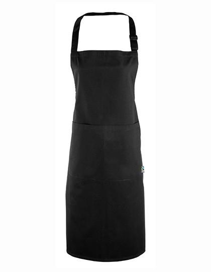 PW112 Premier Workwear Latzschürze (Fairtrade Baumwolle)