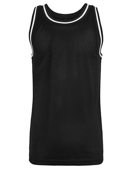 BY009 Build Your Brand Mesh Tanktop