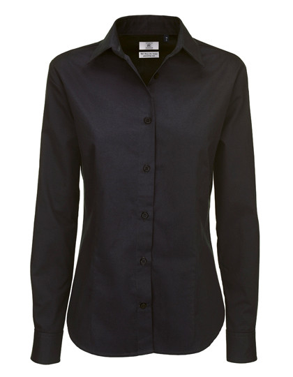 BCSWT83 B&C Twill Shirt Sharp Long Sleeve / Women