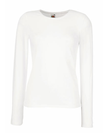 Fruit of the Loom Lady Fit Long Sleeve Crew Neck