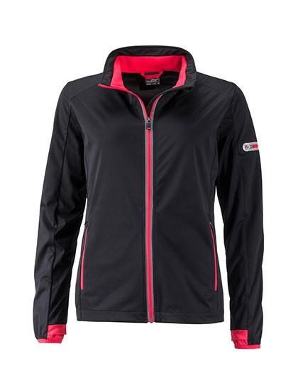 JN1125 James+Nicholson Ladies` Sports Softshell Jacket