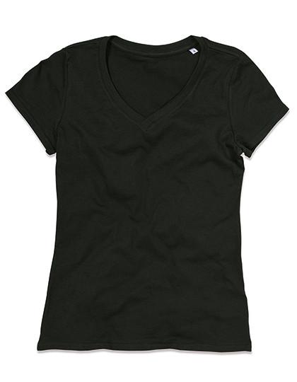 S9310 Stedman® Janet Organic V-Neck for women