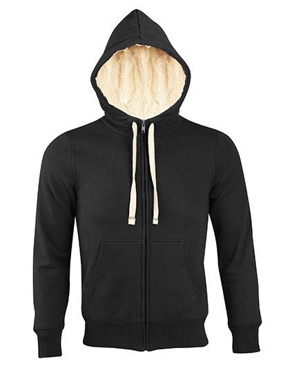 L482 SOL´S Unisex Zipped Jacket Sherpa