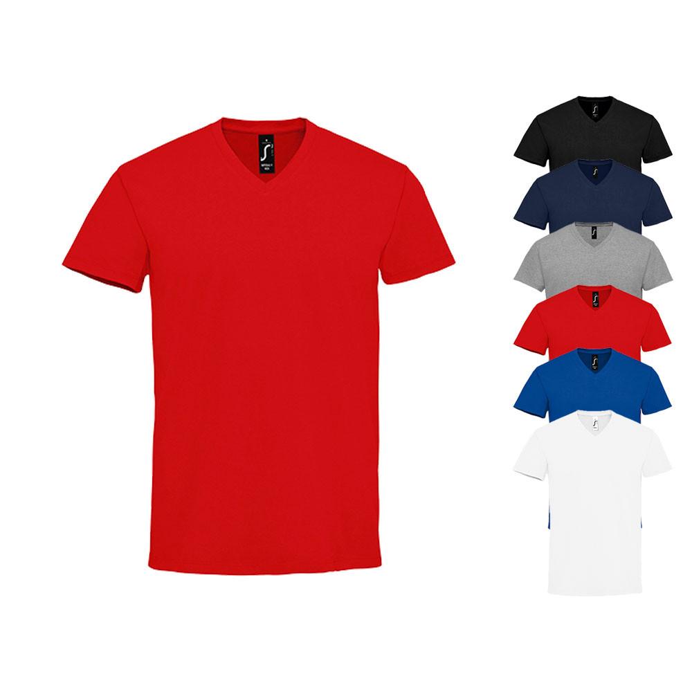 4fb492698cb240 V-Neck-T-Shirts für Damen und Herren günstig kaufen
