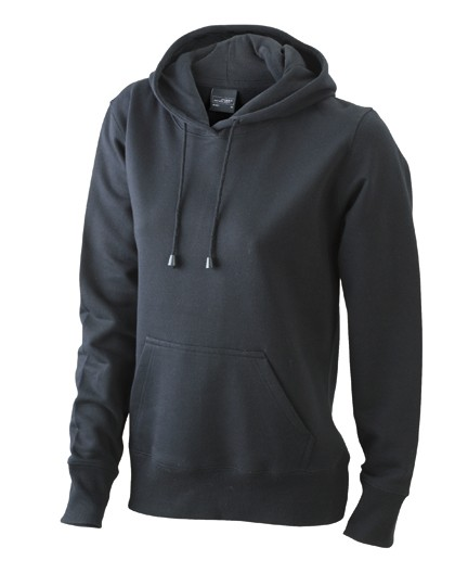 JN051 James+Nicholson Ladies´ Hooded Sweat