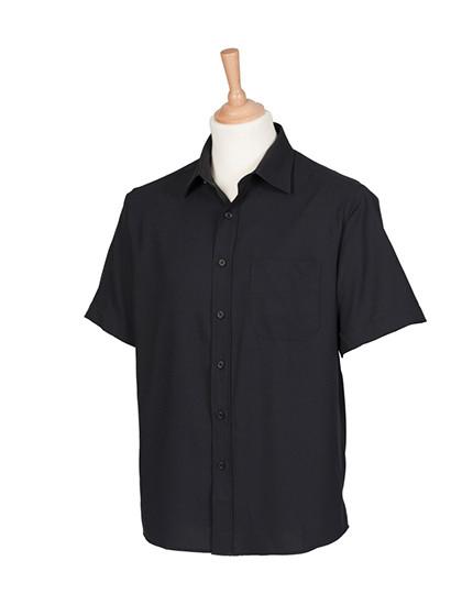 W595 Henbury Men´s Wicking Short Sleeve Shirt