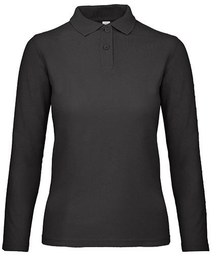 BCPWI13 B&C Long Sleeve Polo ID.001 / Women