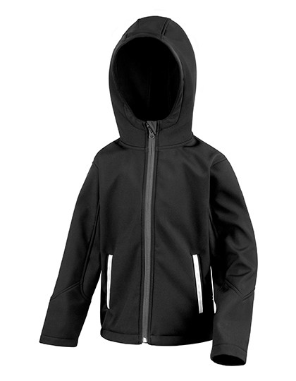 RT224Y Result Core Youth Hooded Soft Shell Jacket