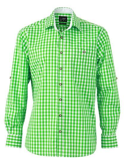 JN638 James+Nicholson Men's Traditional Shirt