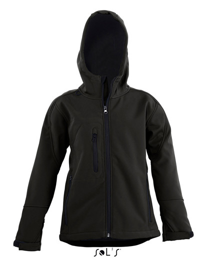 L848K SOL´S Kids Hooded Softshell Jacke Replay