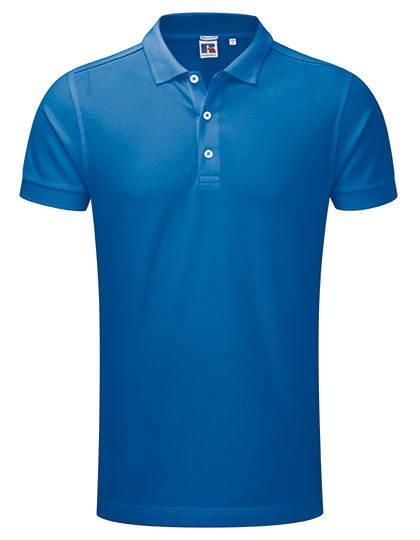 Z566 Russell Mens Stretch Polo
