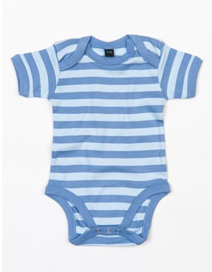 BZ10S Babybugz Baby Stripy Bodysuit