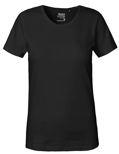 NE81029 Neutral Ladies Interlock T-Shirt