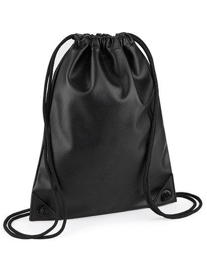 BG250 BagBase Faux Leather Gymsac